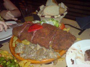 Cachopo en Restaurante Terra Astur
